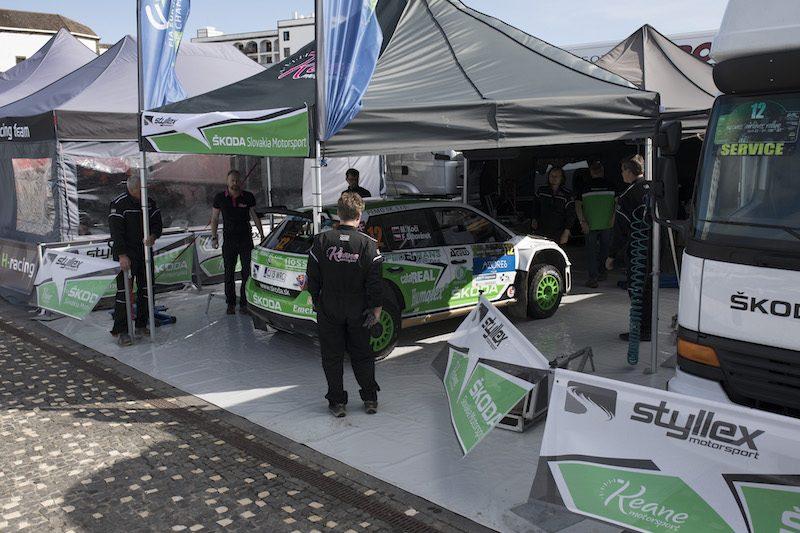ERC Junior Koči makes strong start at home