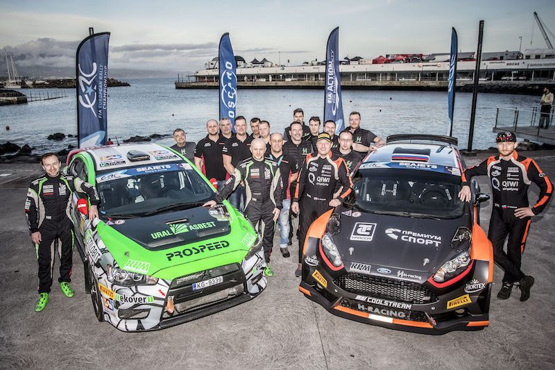 Russian squad on top in ERC battle of the teams