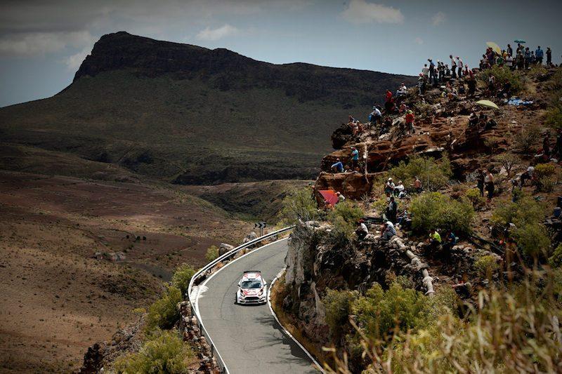 ERC Rally Islas Canarias info online