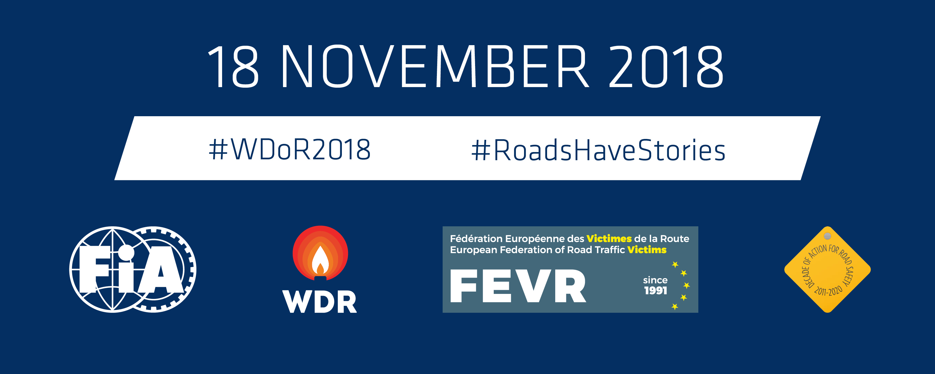 ERC supports #WDoR2018